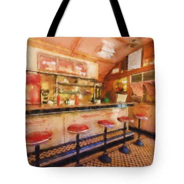 Bellows Falls Diner Tote Bag
