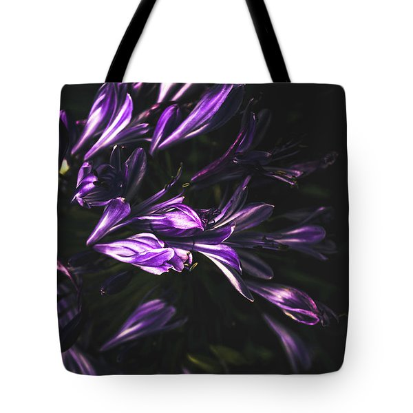 Bells And Flowers Tote Bag