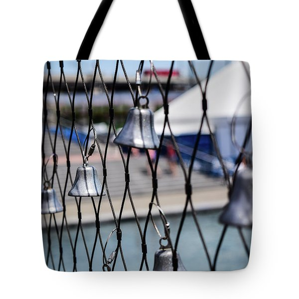 Bells Of Hope Tote Bag
