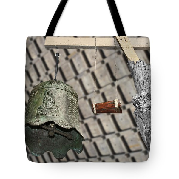 Bells Of The Orient Tote Bag by Christine Till