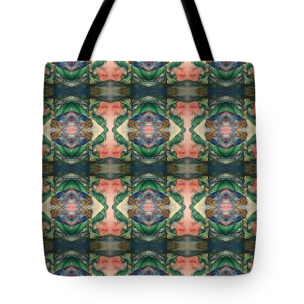 Belly Dance Mirror Image Tote Bag