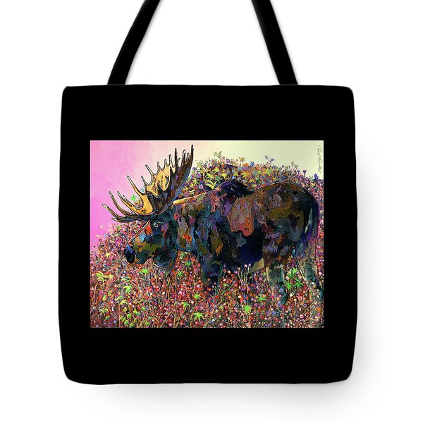 Tote Bag featuring the painting Belly Deep by Bob Coonts