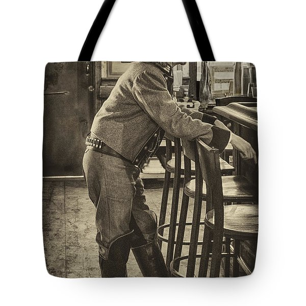 Belly Up To The Bar Tote Bag
