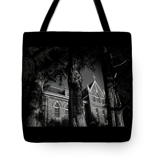 Belmont Abbey Tote Bag