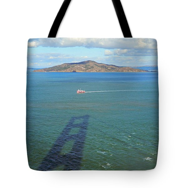 Below And Beyond The Golden Gate Bridge Tote Bag