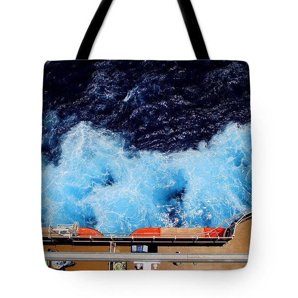 Below Deck Tote Bag