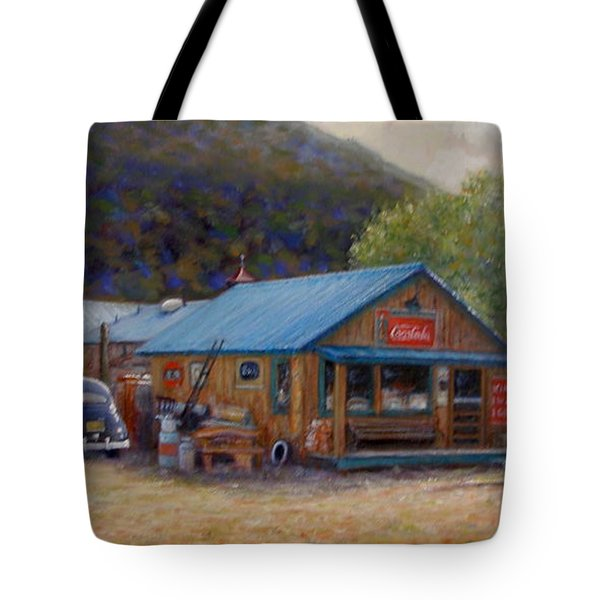 Below Taos 2 Tote Bag by Donelli  DiMaria