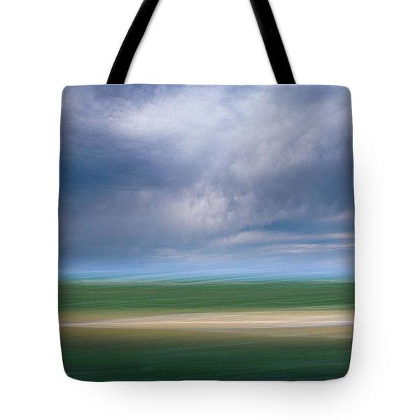 Below The Clouds Tote Bag