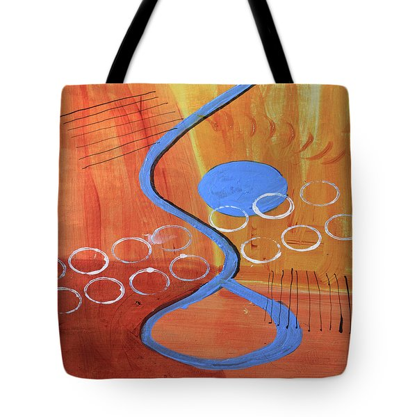 Below The Line Tote Bag