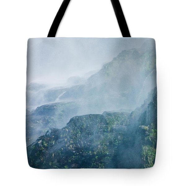 Below Wallace Falls Tote Bag