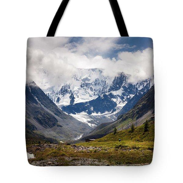 Belukha Mountain. Altay. Russia Tote Bag