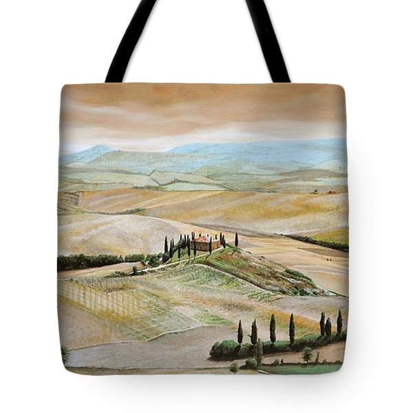 Belvedere - Tuscany Tote Bag by Trevor Neal