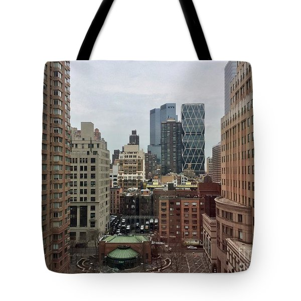 Belvedere Hotel New York City  Room With A View Tote Bag