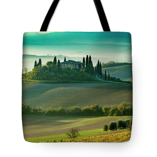 Tote Bag featuring the photograph Belvedere - Tuscany II by Brian Jannsen