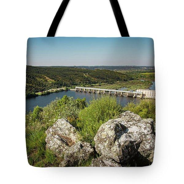 Belver Dam Tote Bag