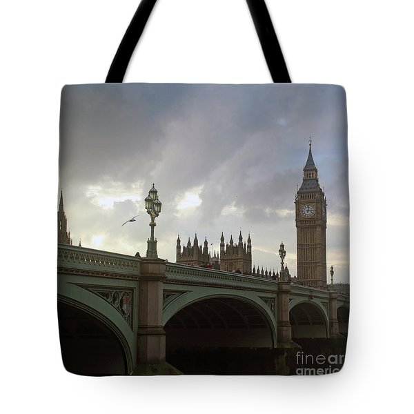 Ben And The Bridge Tote Bag