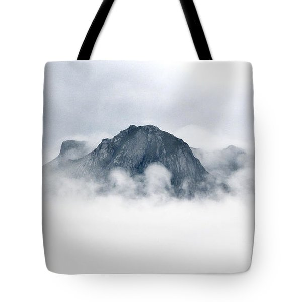 Ben Hope Through Clouds Tote Bag by Sally Ross