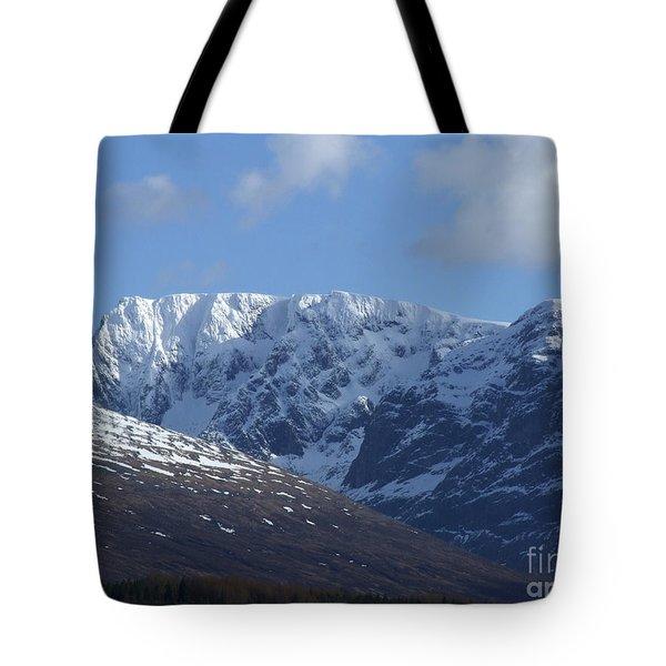 Ben Nevis North Face Tote Bag