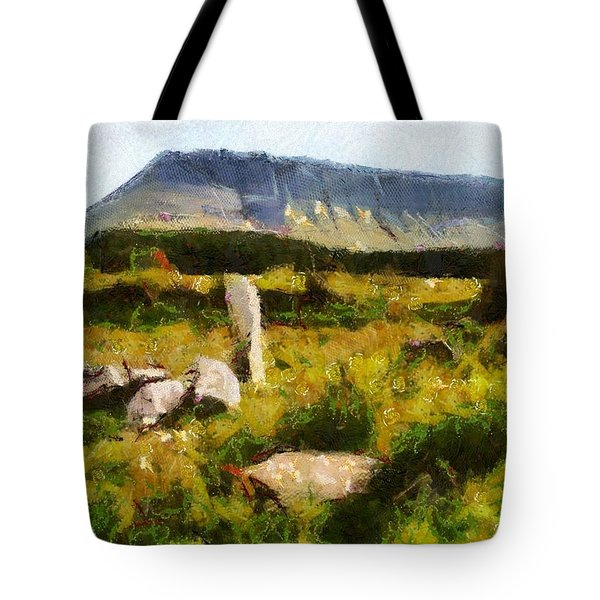 Benbulben Sligo Tote Bag by Charmaine Zoe