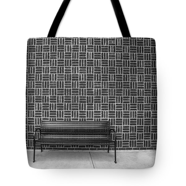 Bench 2017 Bw Tote Bag
