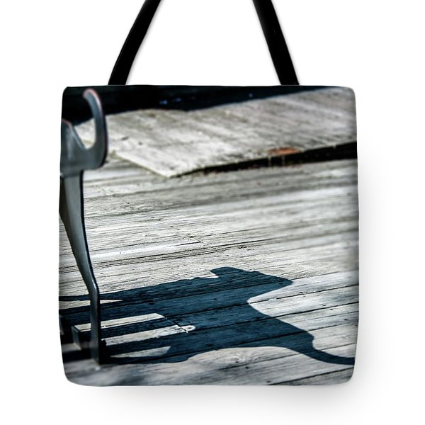 Bench Shadow Tote Bag