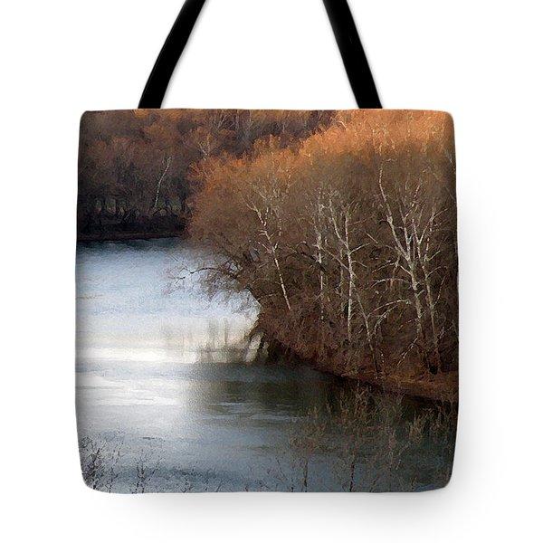 Bend In The Potomac Tote Bag