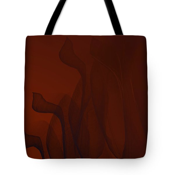 Bended Wires Tote Bag