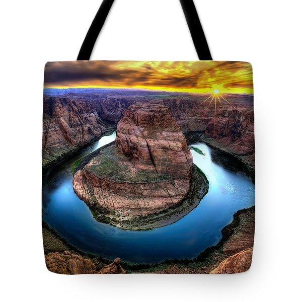 Bending Colors Tote Bag