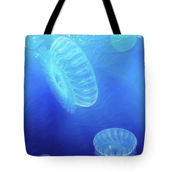 Beneath A Breaking Sea Tote Bag