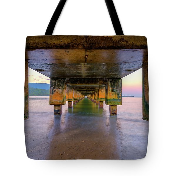 Beneath Hanalei Tote Bag