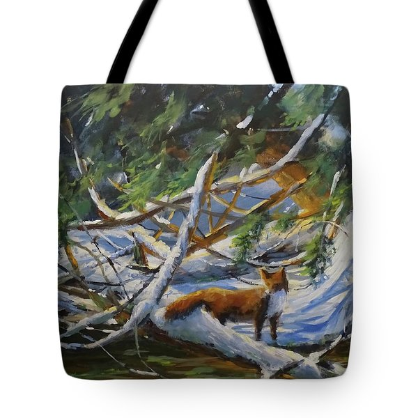 Beneath The Cedars Tote Bag