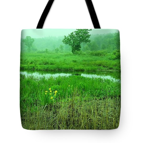 Beneath The Clouds Tote Bag