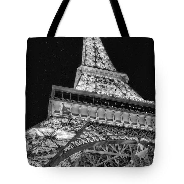 Beneath The Eiffel Tower Tote Bag