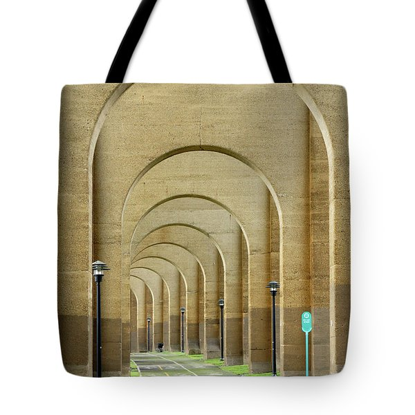 Beneath The Hellgate Tote Bag