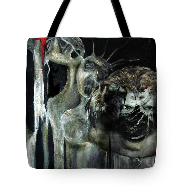 Beneath The Mask Tote Bag