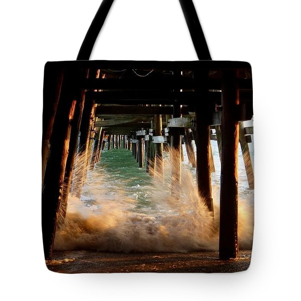 Beneath The Pier Tote Bag