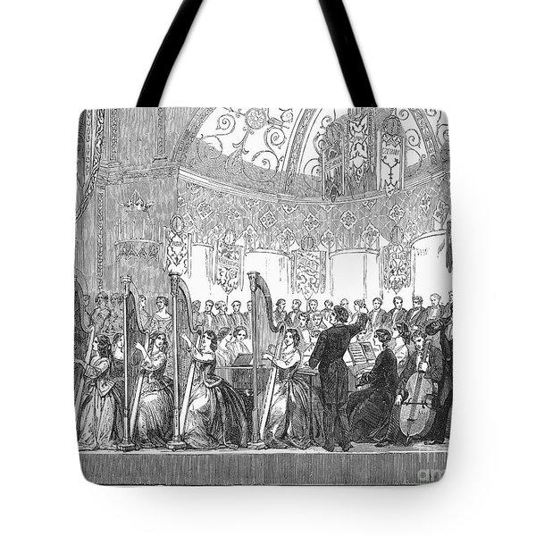 Benefit Concert, 1853 Tote Bag by Granger