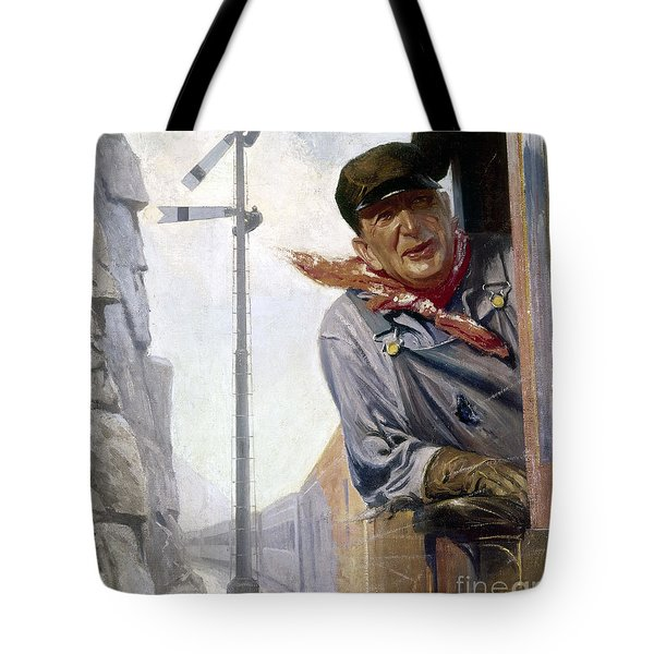 Beneker: The Engineer, 1913 Tote Bag by Granger