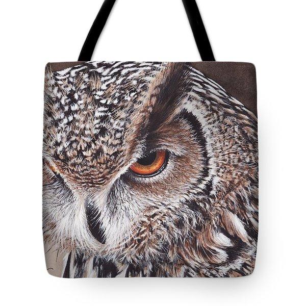 Bengal Eagle Owl Tote Bag