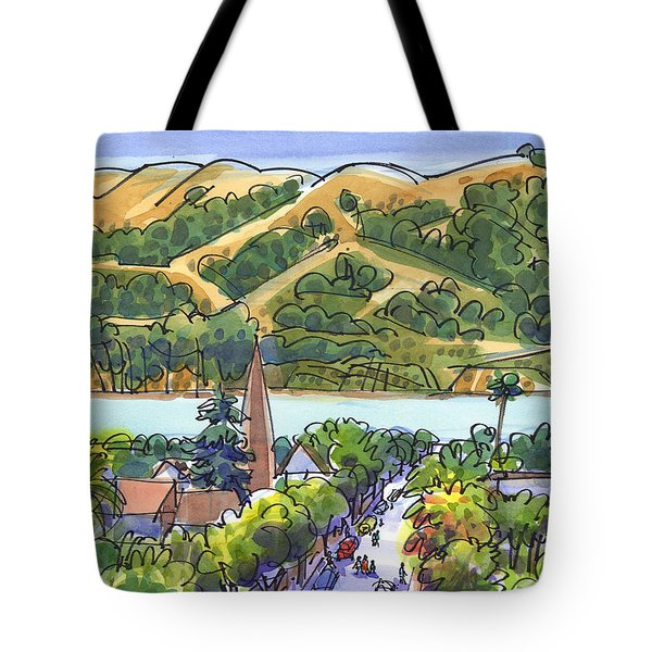 Benicia And Carquinez Straight Tote Bag