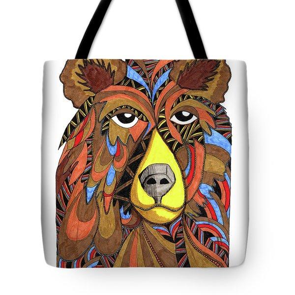 Benjamin Bear Tote Bag