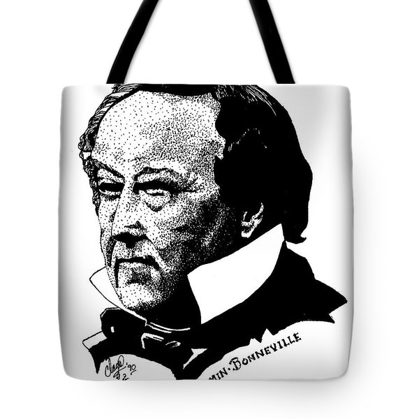 Benjamin Bonneville Tote Bag