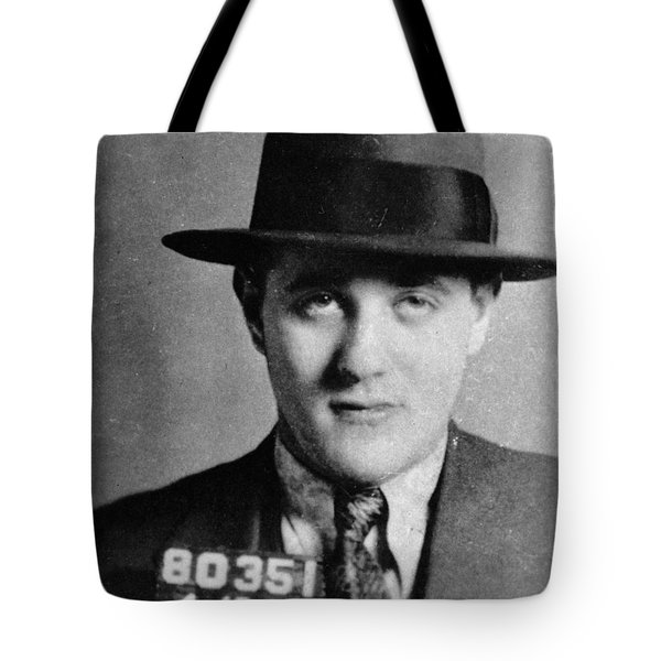 Tote Bag featuring the photograph Benjamin Bugsy Siegel by Granger