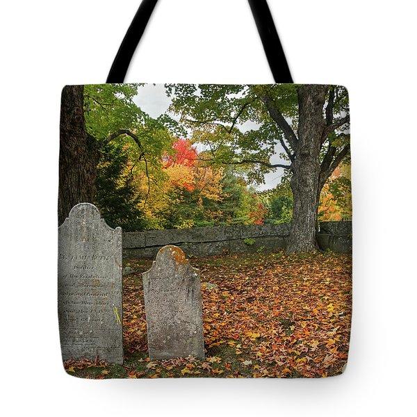 Benjamin Butler Grave Tote Bag