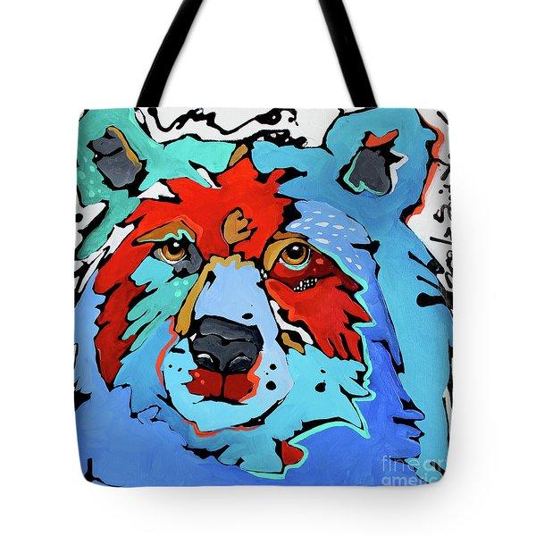 Benjamin The Bear Tote Bag