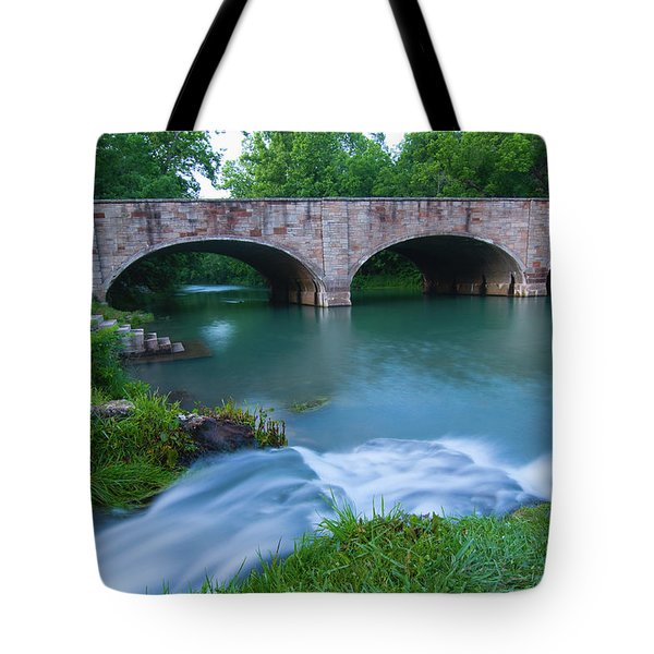 Tote Bag featuring the photograph Bennett Spring by Steve Stuller