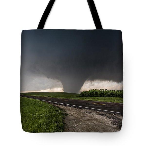 Bennington Kansas Wedge Tote Bag