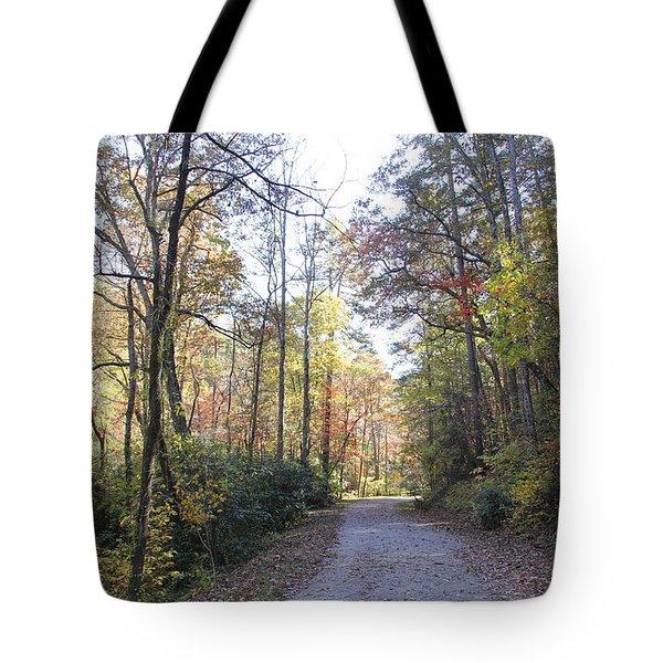 Bent Creek Road Tote Bag