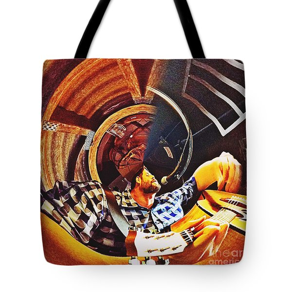 Bent Out Of Shape Tote Bag by Blair Stuart