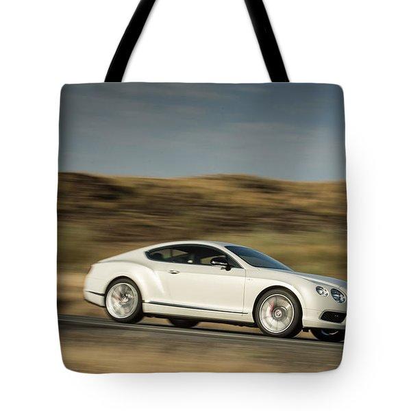 Bentley Continental Gt V8 Tote Bag